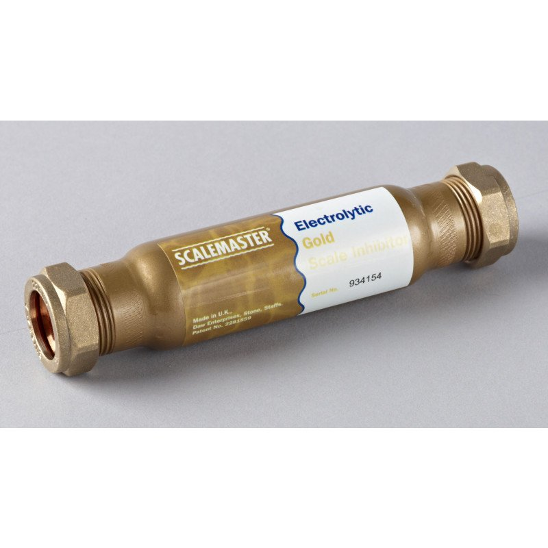 Anti Scale Electrolytic Gold 22mm Compression 401065