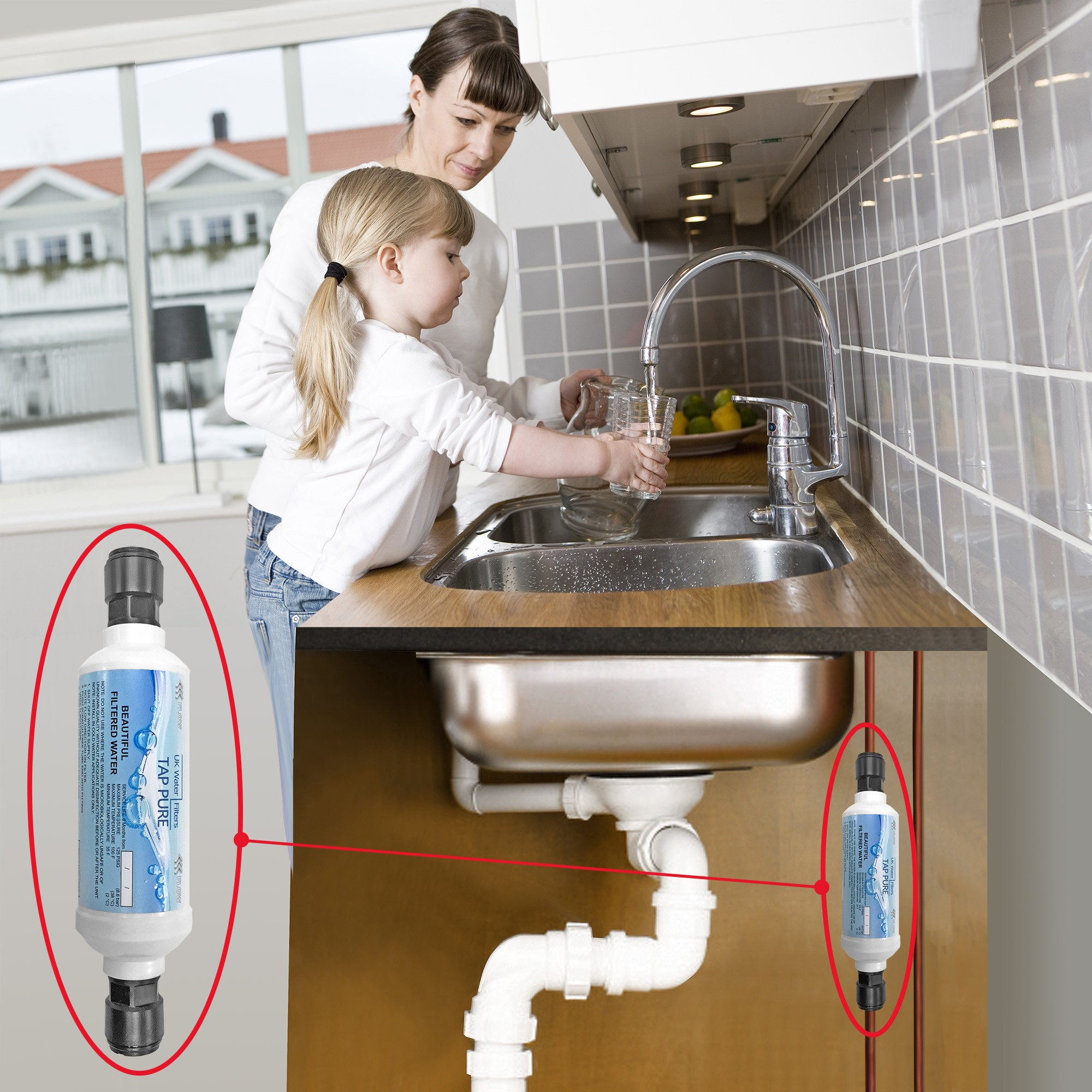 Keep Own Taps Undersink Water Filter Existing Normal Standard Tap