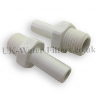 Connection Adapter SET for 1/4 to 3/8 inch Male Spiggot