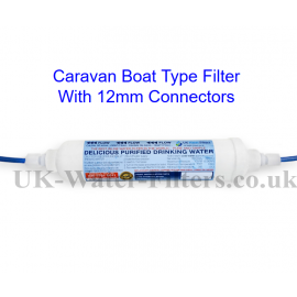 Water Filters for canal boats, caravans, campervans static