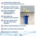 Anti limescale water filter infographic benefits