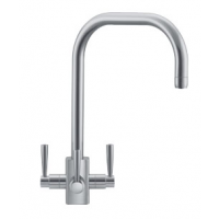 Franke Kubus Filterflow Tap Silk Steel Version
