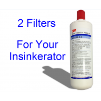 3M Filters Compatible with InSinkErator F701-R Replacement Filter (Twin Pack)