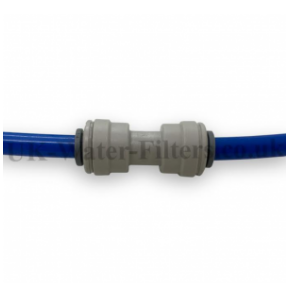 Connection Adapter for 1/4 inch to 1/4 inch (6.4mm to 6.4mm) pipe / tubing