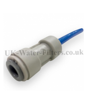Connector for 5/16 inch to 1/4 inch pipe / tubing