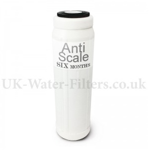 six month anti scale drinking water filter